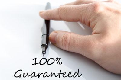 teksoft 100% guarantee